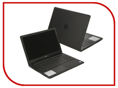 Ноутбук Dell Inspiron 3567 3567-7855 (Intel Core i3-6006U 2.0 GHz/4096Mb/500Gb/DVD-RW/Intel HD Graphics/Wi-Fi/Bluetooth/Cam/15.6/1366x768/Linux)