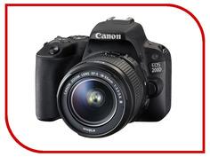 Фотоаппарат Canon EOS 200D Body Black