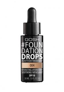 Тональный крем Gosh Gosh! Foundation Drops увлажняющий, 30 мл, 004 натуральный