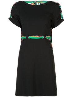 платье с цветастыми ремешками Emilio Pucci