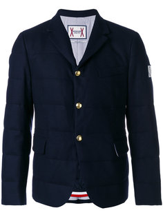 пуховик с накладными карманами Moncler Gamme Bleu