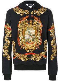 толстовка с  принтом Барокко Dolce & Gabbana