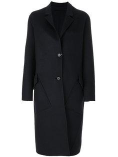 пальто на пуговицах Calvin Klein