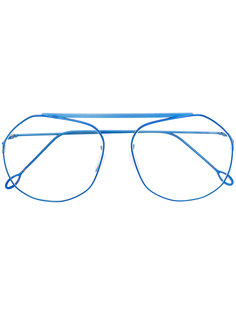 очки в тонкой оправе Delirious