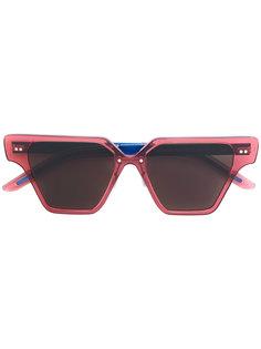 солнцезащитные очки геометрической формы Cheetah Flamingo Del Toro Shoes