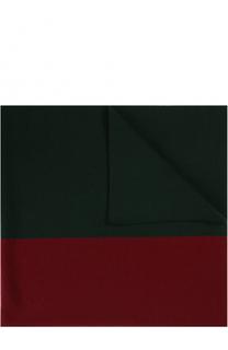 Шерстяное одеяло с логотипом бренда Gucci