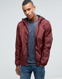 Куртка с капюшоном на молнии Loyalty and Faith - Красный