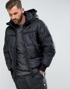 Дутая куртка G-Star - Черный