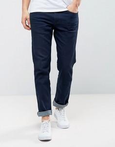 Узкие джинсы прямого кроя цвета индиго Levis Line 8 - Темно-синий