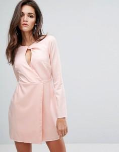 Свободное платье Fashion Union - Розовый