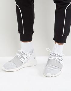 Серые кроссовки adidas Originals Tubular Doom Primeknit BY3553 - Серый