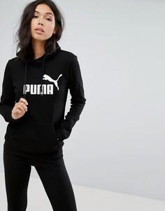 Черный худи Puma Essentials - Черный