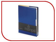 Ежедневник Bruno Visconti Metropol A5 Blue 3-491/01