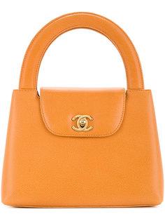 сумка с поворачивающимся замком Chanel Vintage