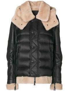 стеганая байкерская куртка  Moncler