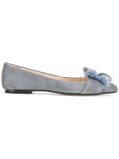 Lucie bow ballerina shoes Anna Baiguera