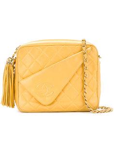 сумка с декоративной строчкой Chanel Vintage