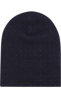 Кашемировая шапка с отделкой из страз Swarovski William Sharp