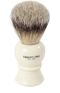 Кисть для бритья Ворс серебристого барсука/Слоновая кость с серебром Regency Truefitt&Hill Truefitt&;Hill