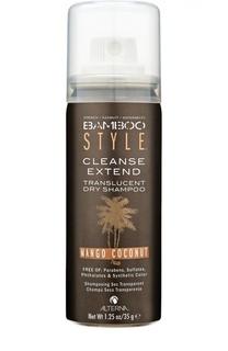 Сухой спрей-шампунь для свежести и объема c ароматом манго и кокоса Bamboo Alterna