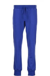 Спортивные брюки с поясом на кулиске Kiton