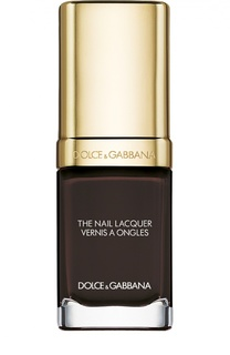 Лак для ногтей, оттенок 827 Ebano Dolce & Gabbana