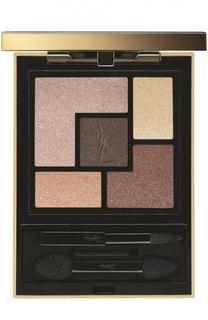 Палетка теней для век Couture Palette 14 Rosy Glow YSL