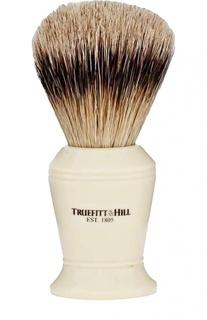 Кисть для бритья, Ворс серебристого барсука / Слоновая кость с серебром / Carlton Truefitt&Hill Truefitt&;Hill