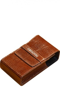 Чехол для станка и помазка из кожи игуаны светло-коричневого цвета Truefitt&Hill Truefitt&;Hill