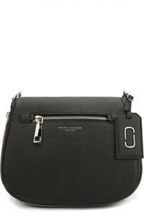 Кожаная сумка Gotham с текстильным ремнем Marc Jacobs