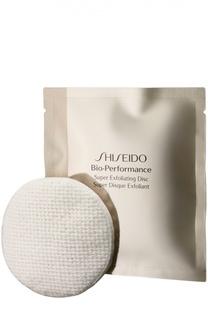 Отшелушивающие диски Bio-Performance с антивозрастным эффектом Shiseido