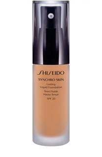 Устойчивое тональное средство Synchro Skin, оттенок Golden 3 Shiseido
