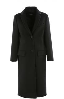 Пальто прямого кроя с заклепками Valentino