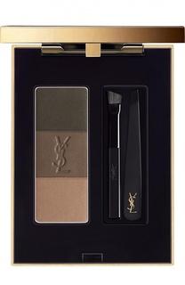 Палетка для бровей Couture Brow, оттенок 02 YSL