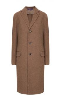 Кашемировое пальто прямого кроя Ralph Lauren