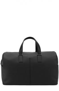 Кожаная дорожная сумка с плечевым ремнем Dior