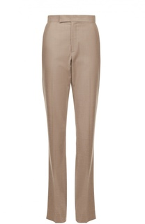 Шерстяные расклешенные брюки со стрелками Ralph Lauren