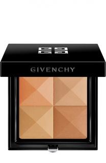 Компактная пудра Prisme Visage, оттенок Медовая органза Givenchy