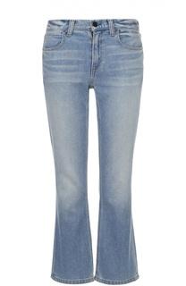 Укороченные расклешенные джинсы Denim X Alexander Wang