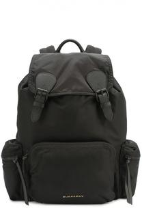 Текстильный рюкзак с клапаном Burberry