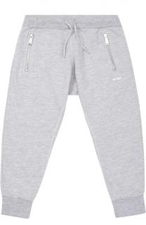 Спортивные брюки с карманами на молнии Dsquared2