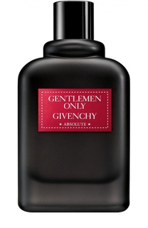 Парфюмерная вода Gentlemen Only Absolute Givenchy