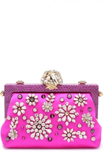 Клатч Vanda с вышивкой кристаллами Dolce & Gabbana