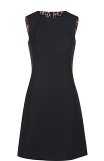 Приталенное мини-платье без рукавов Dolce & Gabbana