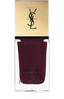 Лак для ногтей La Laque Couture, оттенок 07 YSL