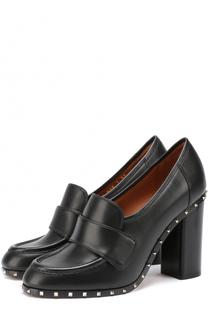 Кожаные туфли Soul Rockstud с перемычкой Valentino