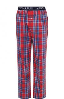 Хлопковые домашние брюки свободного кроя Ralph Lauren