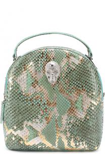 Рюкзак из кожи питона Philipp Plein