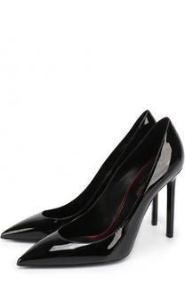 Лаковые туфли Anja на шпильке Saint Laurent