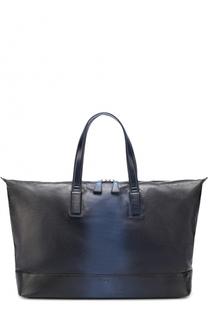 Спортивная кожаная сумка с эффектом деграде Santoni